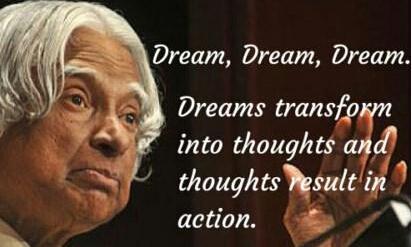 Dr APJ Abdul Kalam – Motivation & Inspiration Quotes